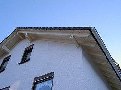 Dachüberstand ortgang